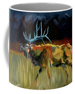 Elk Shout Out Coffee Mug