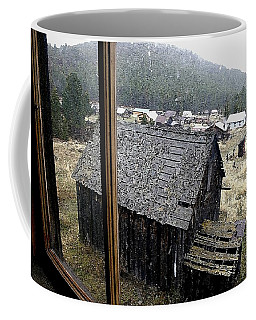 Elkhorn Snowfall Coffee Mug