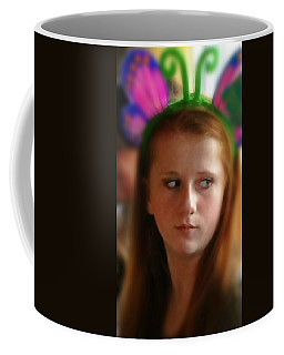 Coffee Mug featuring the painting Ella by Mindy Newman