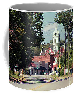 Coffee Mug featuring the photograph Ellaville, Ga - 2 by Jerry Battle
