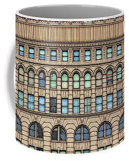 Ellicott Square Building Buffalo Ny Ink Sketch Effect Coffee Mug