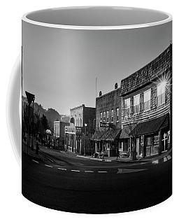 Ellijay Sunrise In Black And White Coffee Mug