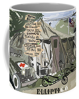 Elliptigo  In The Army Coffee Mug