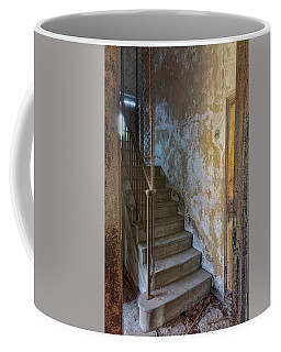 Ellis Island Stairs Coffee Mug