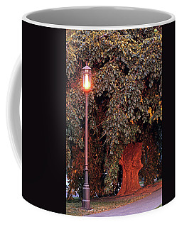Elm And Lamp Post Coffee Mug