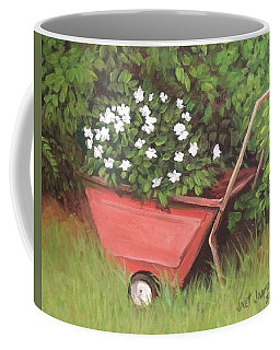Eloise's Garden Cart Coffee Mug by Jeanette Jarmon
