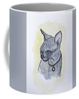 Else The Sphynx Kitten Coffee Mug