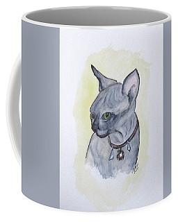 Else The Sphynx Kitten Coffee Mug