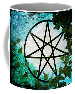 Elven Faerie Star Coffee Mug by Absinthe Art By Michelle LeAnn Scott