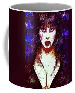 Elvira Mistress Of The Dark Coffee Mug
