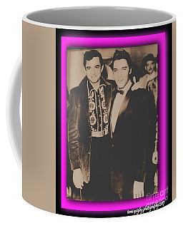 Elvis And Johnny Coffee Mug