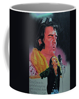 Elvis And Jon Coffee Mug