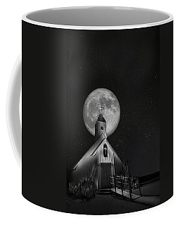 Elvis Chapel Under The Full Moon Coffee Mug