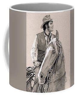 Elvis In Charcoal #181, No Title Coffee Mug