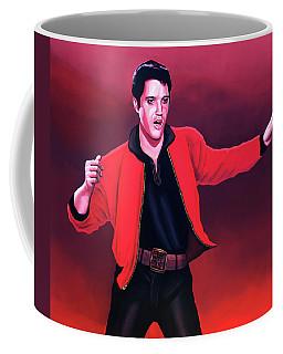 Elvis Presley 4 Painting Coffee Mug