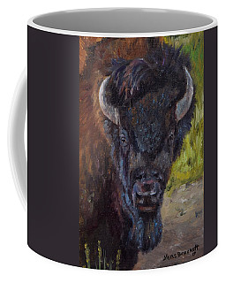 Elvis The Bison Coffee Mug