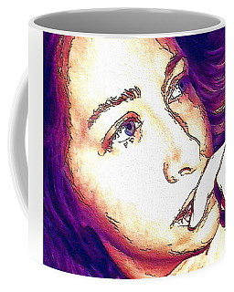 Coffee Mug featuring the digital art Ely by Ely Arsha