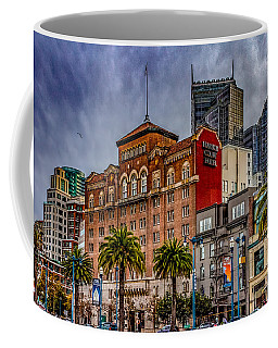 Coffee Mug featuring the photograph Embarcadero Street by Bill Gallagher