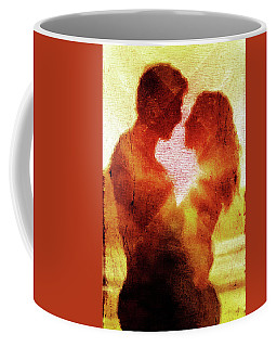 Embrace Coffee Mug by Andrea Barbieri