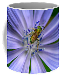 Embraced Coffee Mug by Kerri Farley