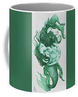 Embracing Mermen Coffee Mug