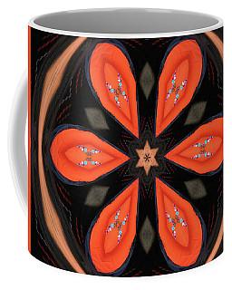 Embroidered Cloth Coffee Mug