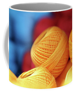 Embroidery Yarn Coffee Mug