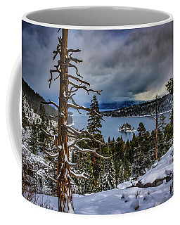 Emerald Bay Snow Coffee Mug