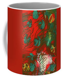 Emerald Butterfly Island Coffee Mug