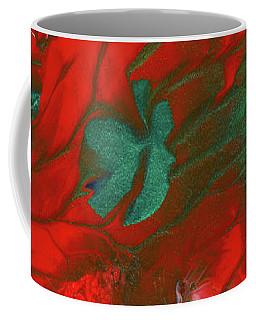 Emerald Butterfly Island Coffee Mug