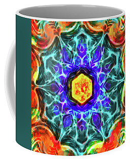 Emerald Circle Mandala Coffee Mug
