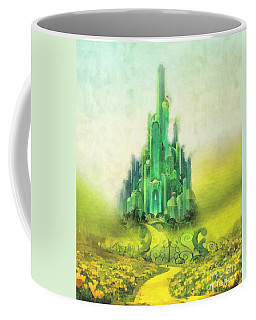 Emerald City Coffee Mug by Mo T
