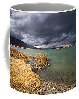 Emerald Green Storm Coffee Mug