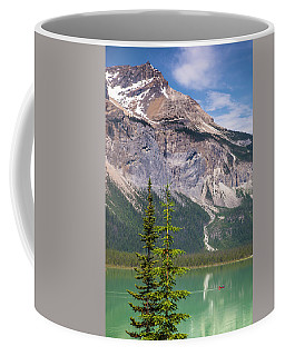 Coffee Mug featuring the photograph Emerald Lake by Mark Mille