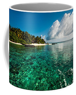 Emerald Purity. Maldives Coffee Mug