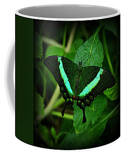 Emerald Swallowtail Coffee Mug