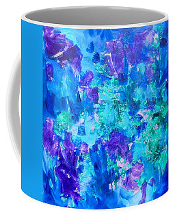 Coffee Mug featuring the painting Emergence by Irene Hurdle