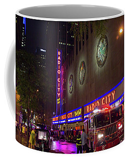 Emergency At Radio City Coffee Mug
