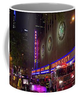Emergency At Radio City Coffee Mug