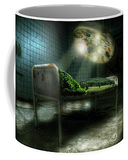 Coffee Mug featuring the digital art Emergency Nature  by Nathan Wright