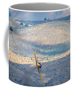 Emerging From The Valley Of Speed 16 X 9 Aspect Signature Edition Coffee Mug