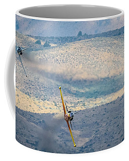 Emerging From The Valley Of Speed 16x9 Aspect Coffee Mug