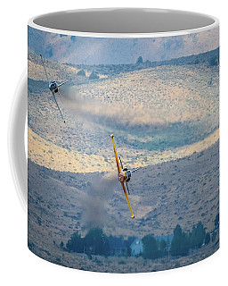 Emerging From The Valley Of Speed 5 X 7 Aspect Coffee Mug