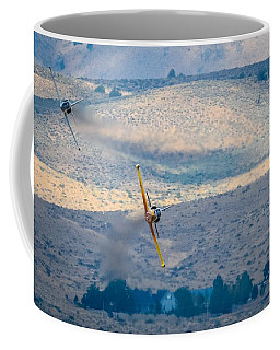 Coffee Mug featuring the photograph Emerging From The Valley Of Speed by John King
