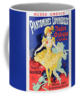 Emile Reynauds Animated Projection Show Pauvre Pierrot 1896 Coffee Mug