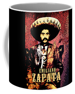 Emiliano Zapata Digital Art Coffee Mug