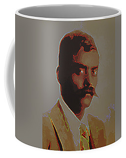 Emiliano Zapata Neon 2 Coffee Mug