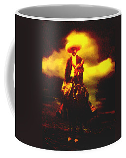 Emiliano Zapata Y Caballo Coffee Mug