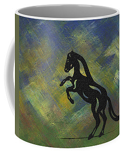 Emma - Abstract Horse Coffee Mug