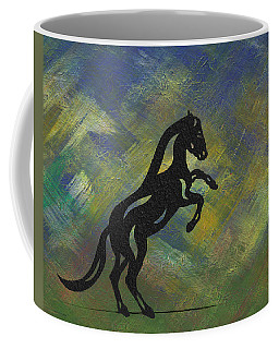 Emma II - Abstract Horse Coffee Mug